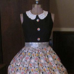 Vintage Candy Land Inspired Dress